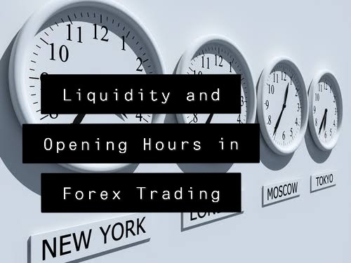 Liquidity and Opening Hours in Forex Trading